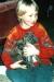 Kind mit Welpe